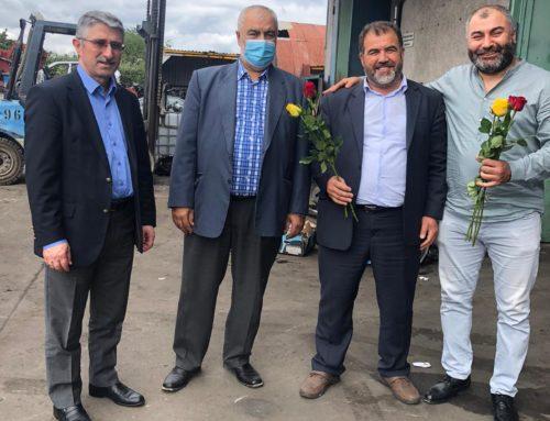RASTATT'DA RAMAZAN BAYRAMI ESNAF ZİYARETİ