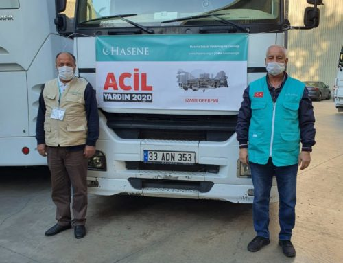 İzmir'e Yardımlarımız Ulaştı