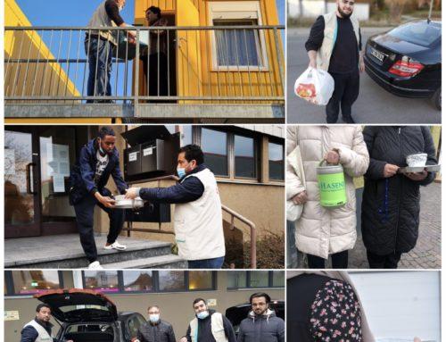 İGMG Württemberg Singelfingen Şubesi Mültecilere İftar İkramında Bulundu