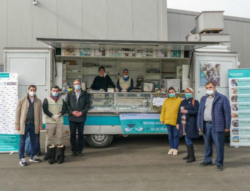 Islamischen Gemeinschaft Millî Görüş Rastatt e.V. haben eine warme Mahlzeit verteilt