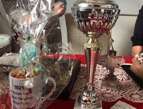 Mühlacker Şubesinden Alara Kavaklı Kuran-ı Kerim Tilavet Yarışmasında Birinciliği Kazandı