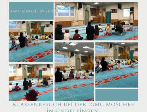 1. Sınıf Öğrencilerinden Cami Ziyareti
